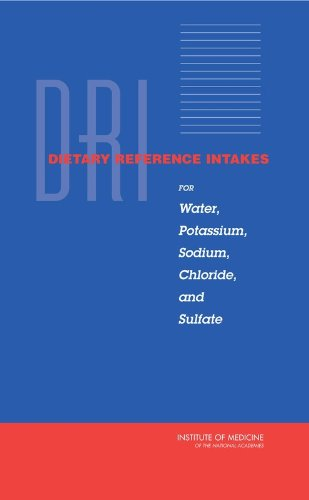 Dietary Reference Intakes for Water, Potassium, Sodium, Chloride, and Sulfate