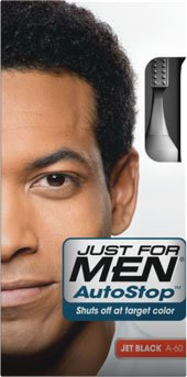 JUST FOR MEN Autostop Couleur des cheveux, Jet Black 3,8 oz Lot de 3 boîtes