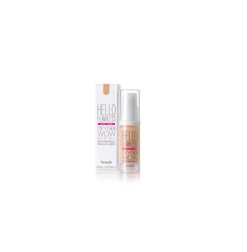 Hello Honey - Benefit Cosmetics 'Hello Flawless' Oxygen Wow Liquid Foundation 'I'm So Money' Honey 1 oz by CoCo-Shop