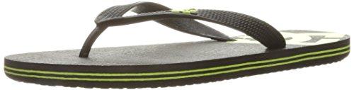 DC Men's Spray Sandal, Black/Lime, 6 D - Athletic Sandals Shoes Dc