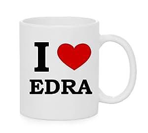 I taza del corazón Edra (amor)