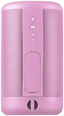 IPX5の防水ワイヤレスBluetoothスピーカーポータブルスピーカー (Color : Pink)