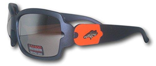 Denver Broncos Full Frame Blue Polarized - Sunglasses Denver