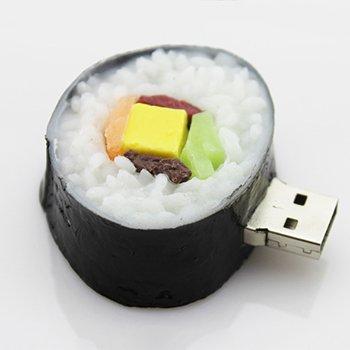 D-CLICK TM 4GB/8GB/16GB/32GB/64GB/Cool USB High Speed Flash Memory Stick Pen Drive Disk (32GB, Sushi A) (Lizard Drive Usb)