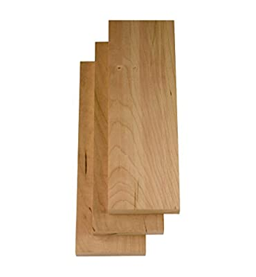 "Cherry Wood, 7/8""x4""x12"" 3 Pack"