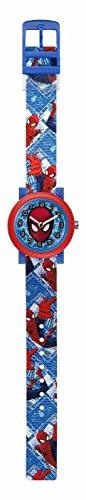 marvel-ultimate-spiderman-childrens-quartz-analogue-display-watch-blue-red