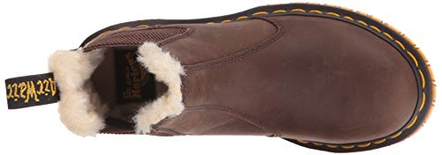 Chelsea Para Wyoming Leonore Burn Botas Brown Mujer Martens Dr SwqX6xTqH