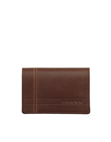 Cross Legacy Leather Collection, Business Card Case, Brown (Gusseted Business Card Case)