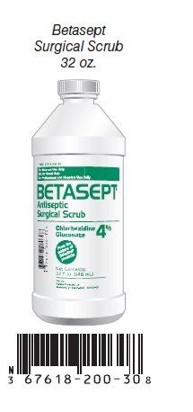Betasept Antiseptic Surgical Scrub 32 OZ