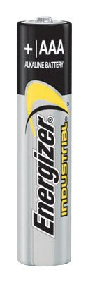 Energizer® Eveready® 1.5 Volt AAA General Purpose Alkaline Battery With Flat Contact Terminal (4 Pack)