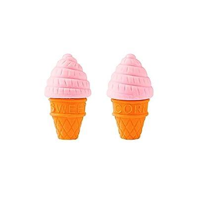 Handy Basics Mini Ice Cream and Frozen Treat Pencil Erasers 48pcs: Toys & Games