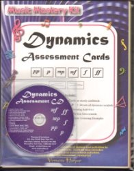 Dynamics Assessment Cards with CD Assessment Cd