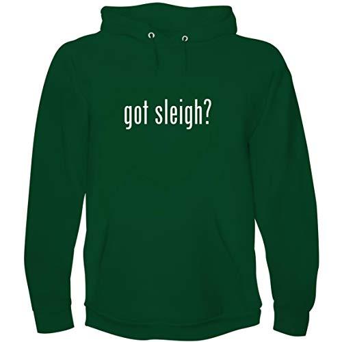 The Town Butler got Sleigh? - Men's Hoodie Sweatshirt, Green, XX-Large