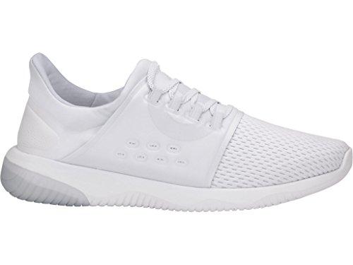 Asics Gel-kenun Lyte Da Donna Running White-glacier Grey-white