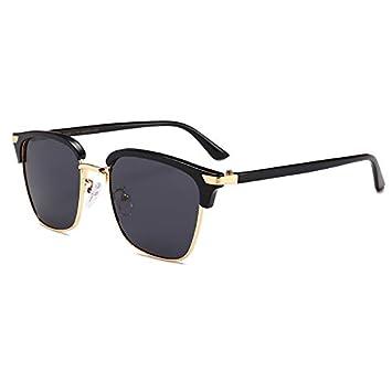 Mjia sunglasses Gafas Deportivas Hombre,Gafas de Sol polarizadas Gafas de, Sol metálicas cuadradas Retros Gafas de,Colores, C: Amazon.es: Deportes y aire ...