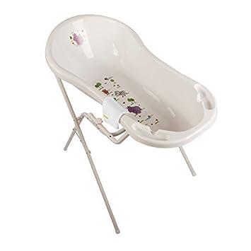 Badewannenständer Baby Badewanne XXL 100 cm Disney Winnie Pooh perl weiß