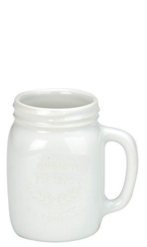 BIA Set of 6 Oasis Espresso Jars White