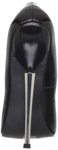 Pleaser Vrouwen Dolk-01 / B Pump Black Patent