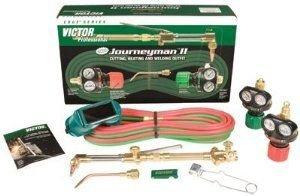 Victor Technologies 0384-2041 Journeyman II Heavy Duty Cutting System, Acetylene Gas Service, ESS4-15-510 Fuel Gas Regulator