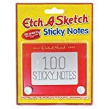 Paladone Toy Box Etch-A-Sketch Sticky Notes