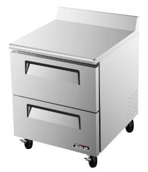 Turbo Air TWF-28SD-D2 Worktop Freezer Solid Drawer One Section