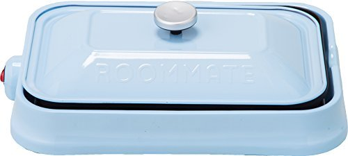 """ROOMMATE """"3 WAY HOT PLATE"""" EB-RM8600H-LB (LIGHT BLUE)【Japan Domestic genuine products】"""