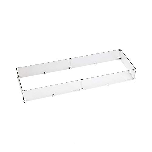 American Fireglass Tempered Glass Flame Guard for 48