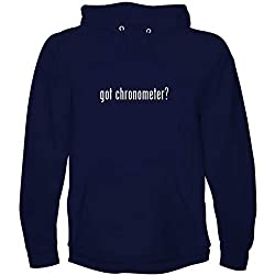 The Town Butler got Chronometer? - Men's Hoodie Sweatshirt, Navy, Large