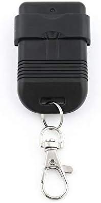 Privacidad Copia Cara a Cara Puertas de Garaje Llave de Puerta de Auto Puerta Llave Negro-1 Duplicador de Control Remoto Inal/ámbrico Copia Autom/ática 330MHz