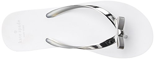 Silver Women's Flop Flip Happily Kate Spade York New w1aqq70P