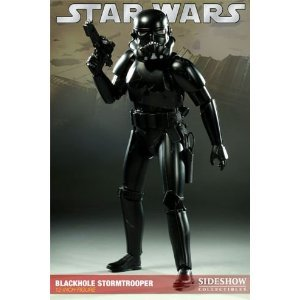Star Wars Sideshow Collectibles Exclusive 12 Inch Action Figure Blackhole Stormtrooper -