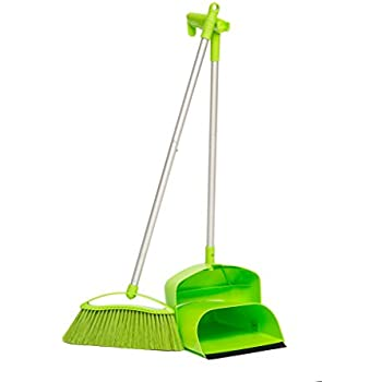 Amazon.com: Camco Adjustable Broom and Dustpan, Gets In