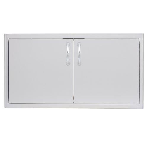 Double Access Door with Paper Towel Dispenser Size: 40