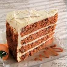 Sweet Street The Big Line Four Layer High Carrot Cake, 14 Slice -- 2 per case. by Sweet Street