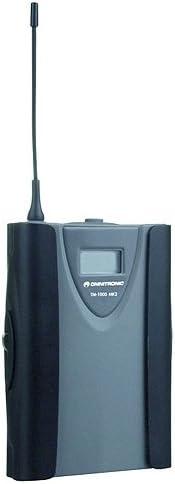 Trasmettitore tascabile Omnitronic 13055511 TM-1000 MK2