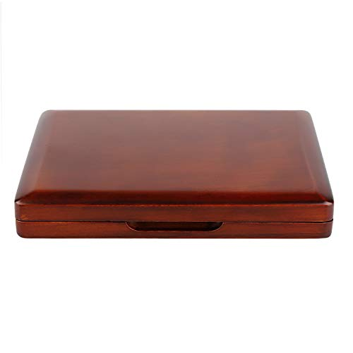- Oboe Reed Case Maroon Wood Oboe Reed Proctector Box for 12PCS Oboe Reeds