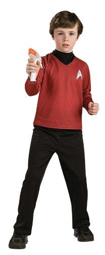 Star Trek Red Shirt Kids Costumes (Star Trek Child Costume - Red (Medium))