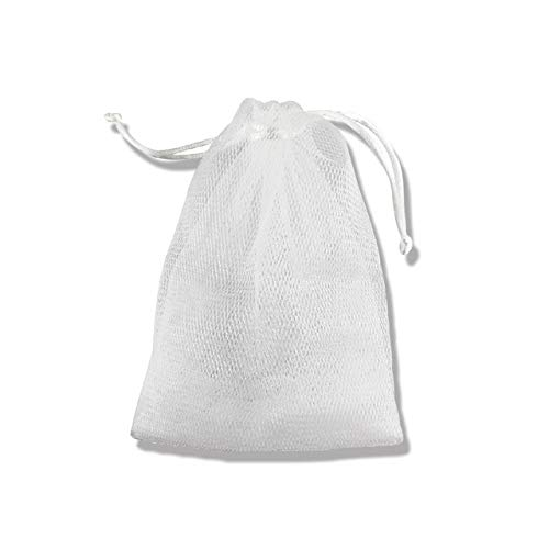 Home Improvement Bathroom Hardware 10pcs Soap Sack Saver Pouch Drawstring Holder Bags For Making Bubbles