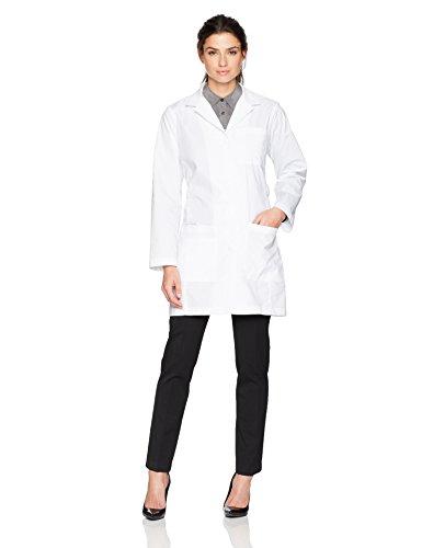 WonderWink Women's Fashion Lab Coat, White 2 Extra Large by WonderWink (Image #1)