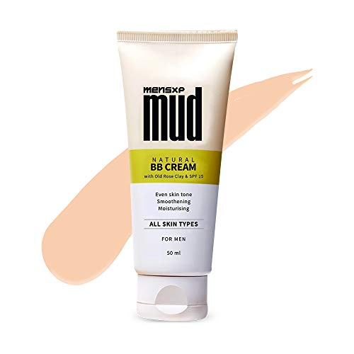 Mensxp Mud Natural BB Cream For Men For Even Skin Tone 50 ml, Skin Shade 027 – Medium Light