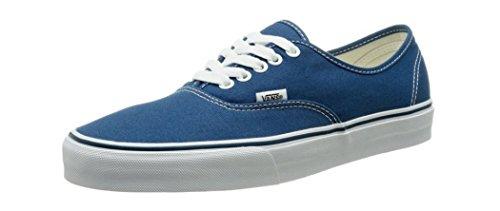 Vans Unisex Authentic Shoes, Navy, 6.5 B(M) US Womens/5 D(M) US Mens - Mens Vans Authentic