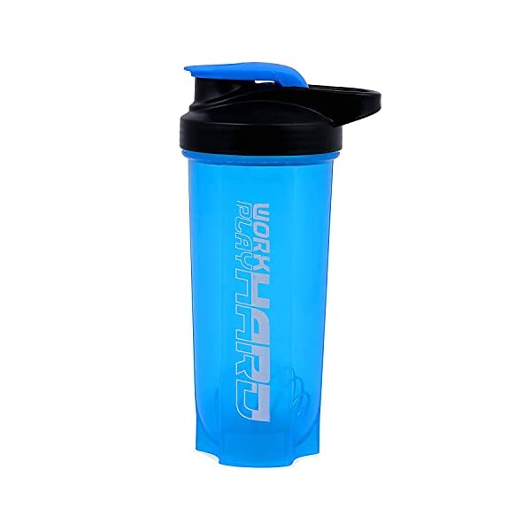 Allied Sales SG-2011 Blue Polyster Gym Bag, Cyclone Protein Shaker and Gym Gloves with Wrist Support Comboss 2021 July IDEAL FOR GYM AND OTHERS SPORTS POLYSTER GYM BAG 700 ML GYM SHAKER
