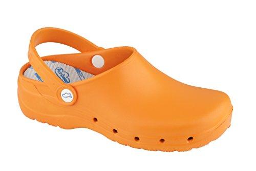 Zueco Caminar Sanitarios Flotantes Naranja Feliz BHq5RwA