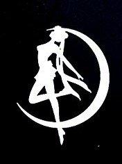Sailor-Moon-Serena-Decal-Vinyl-StickerCars-Trucks-Vans-Walls-Laptop-WHITE-55-x-425-inCCI909