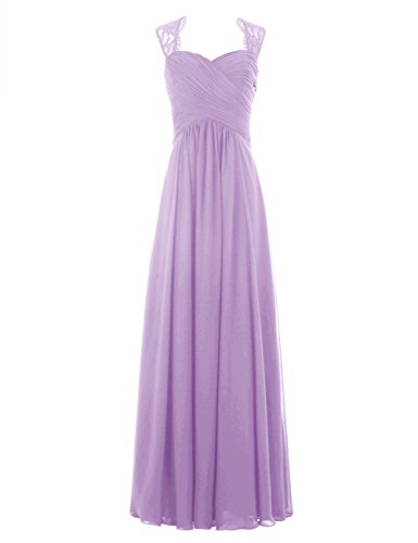 lavender and pink wedding dresses - 4