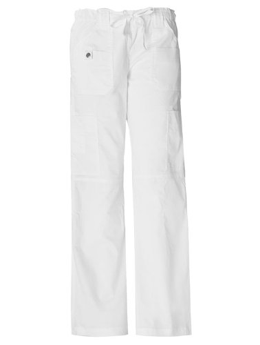 Dickies 'Youtility Cargo Pant' Scrub Bottoms Dickies White X-Large Petite