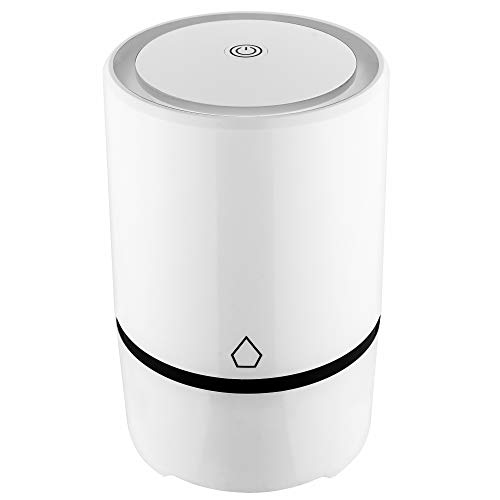 Miladel Desktop Air Purifier True Hepa And Carbon Filter