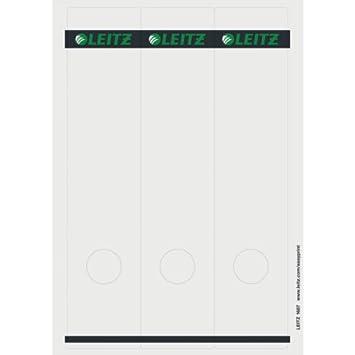 Leitz 16870085 Rectángulo Gris 75pieza(s) - Etiqueta autoadhesiva (Gris, Rectángulo, Archivador de anillas, Papel, 80 g/m², 61 mm): Amazon.es: Oficina y ...