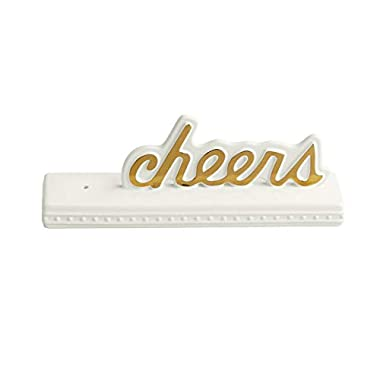 Nora Fleming Stoneware Cheers Sign SG01