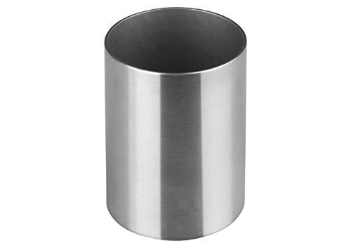 - Winco DDSG-103S 2'' Round Stainless Steel Sugar Packet Holder Cafe Tabletop Metal Straws Holder